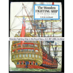 The wooden fighting ship in the royal navy