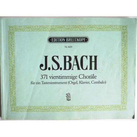 371 vierstimmige Choräle J.S. BACH