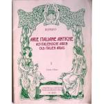 Arie italiane antiche, canto e piano