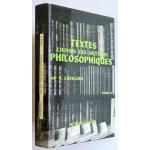 Textes choisis des auteurs philosophiques, Tome 1