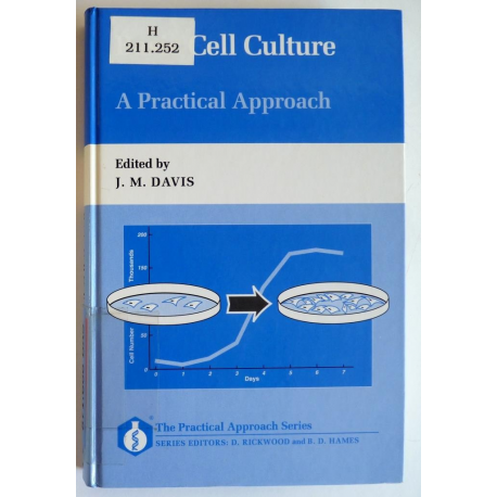 Basic Cell Culture, A Practical Approach