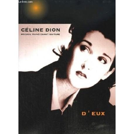 D'EUX, recueil piano chant guitare