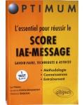 L'esssentiel pour réussir le Score IAE-message