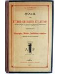 Manuel des études grecques et latines
