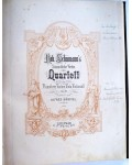 SCHUMANN'S QUARTETT Pianoforte, Violine, Viola, Violoncell
