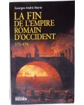 La fin de l'empire romain d'occident - 375-476