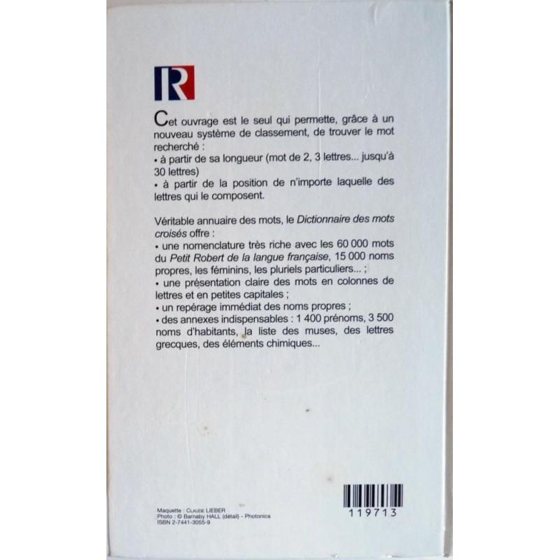 dictionnaire des mots crois s editions france loisirs 1999. Black Bedroom Furniture Sets. Home Design Ideas