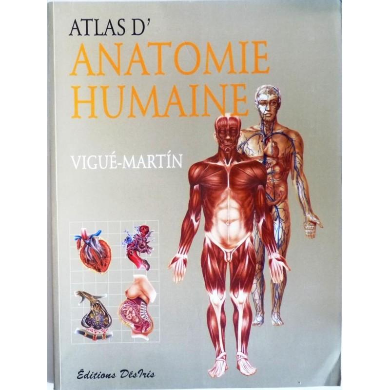 Atlas d\'anatomie humaine - Vieux bouquins