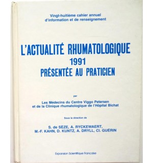L'actualité rhumatologique 1991 présentée au praticien