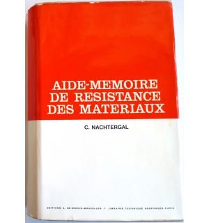 Aide-mémoire de résistance des matériaux